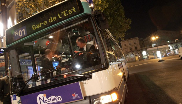 Nachtbus Paris