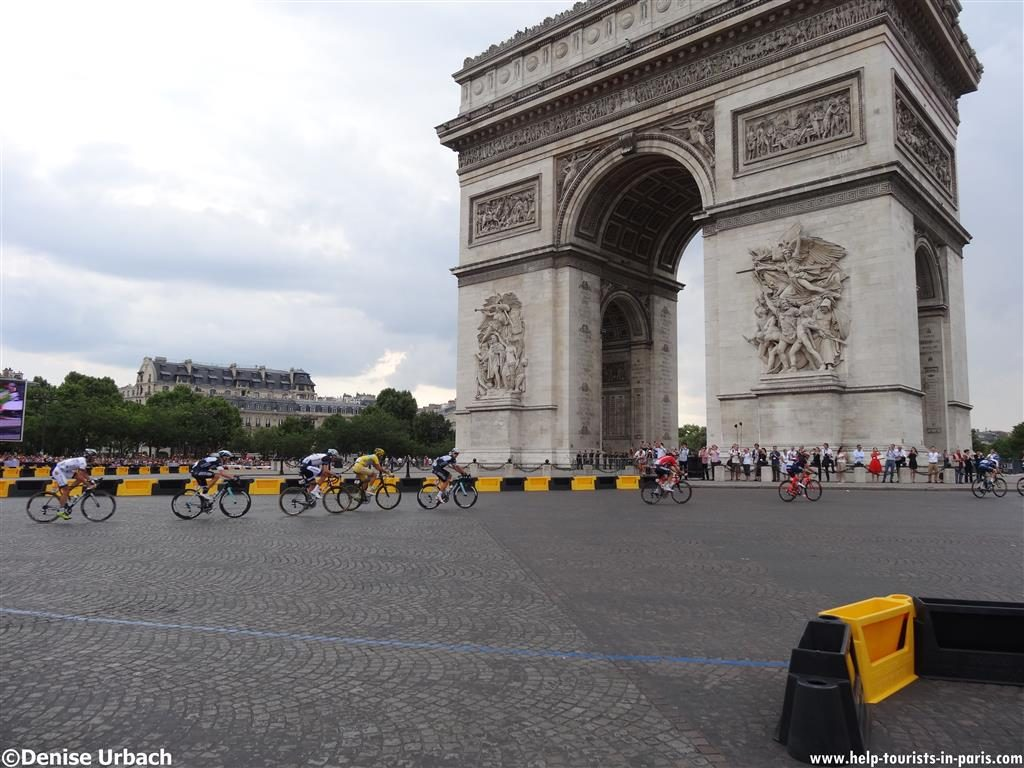 Tour de France Paris Triumphbogen