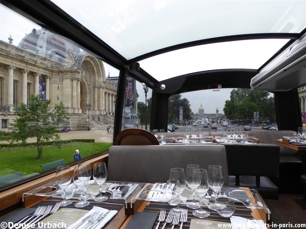 Busfahrt Bustronome Paris