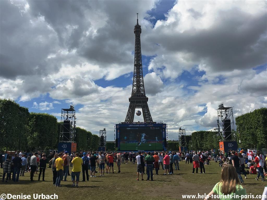 Eiffelturm Euro2016