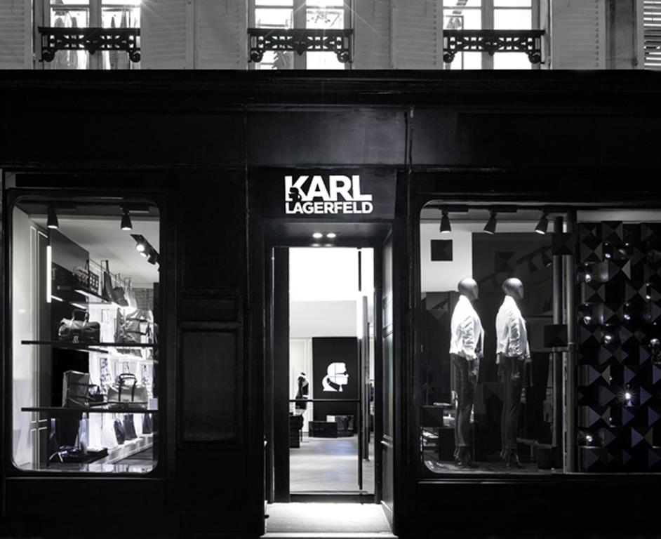 Karl Lagerfeld Boutique Paris