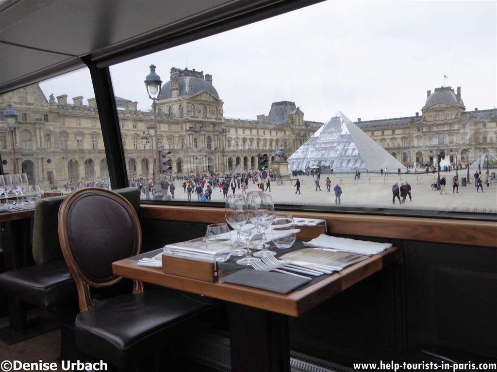 Louvre Bustronome Paris