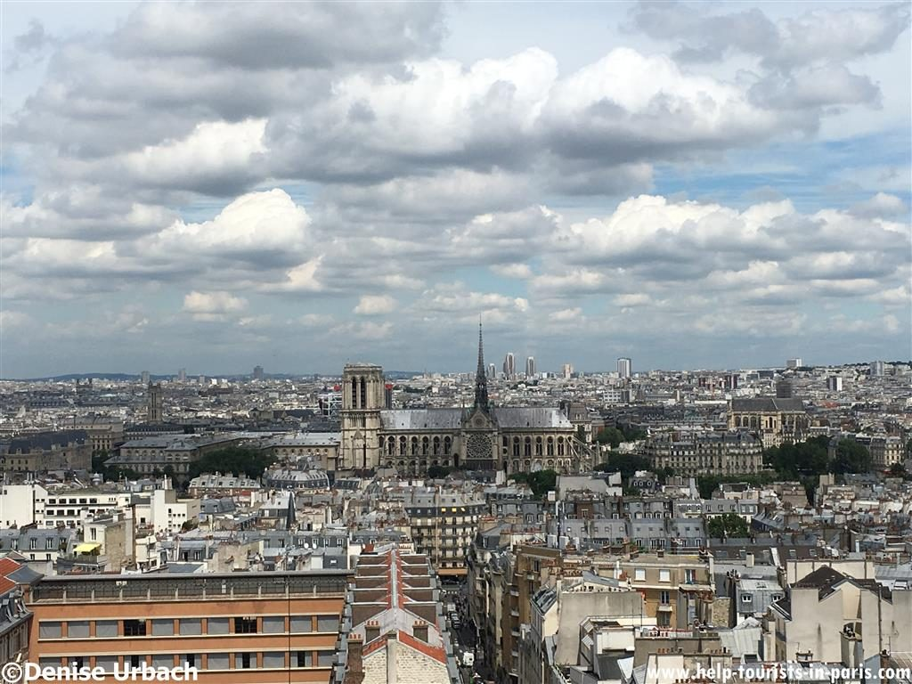 Panoramasicht Paris