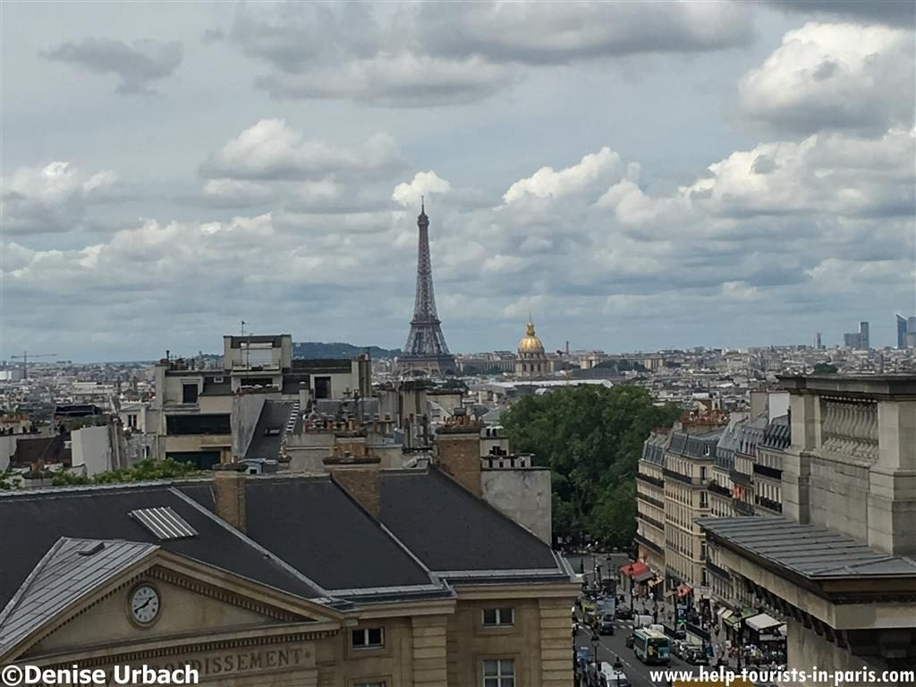 Pantheon Paris Ausblick