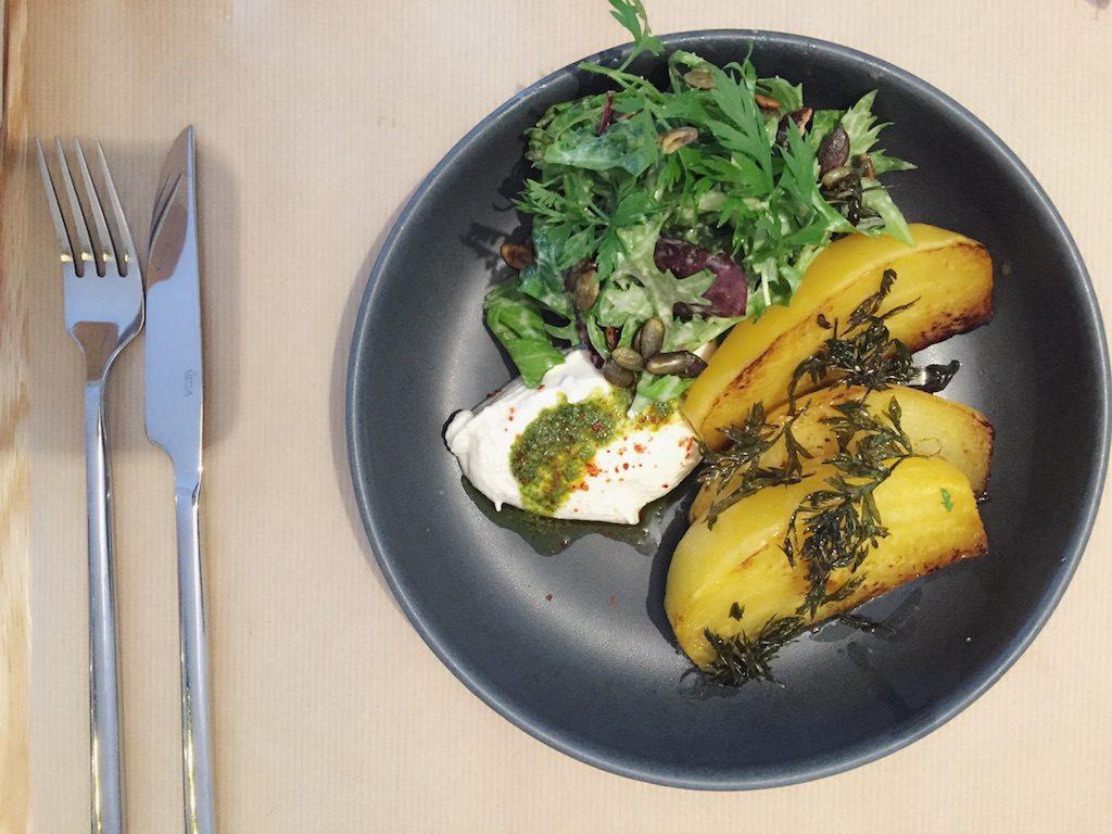 Vegan essen Paris: Potager de Charlotte