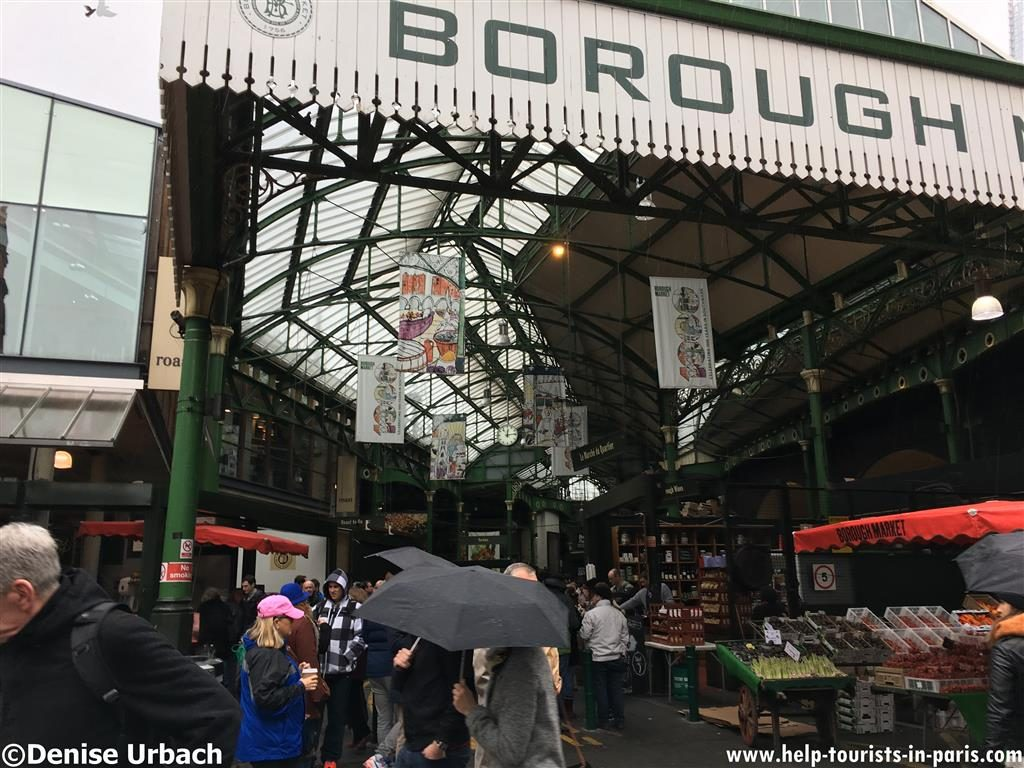 Besuch auf dem Borough Market London