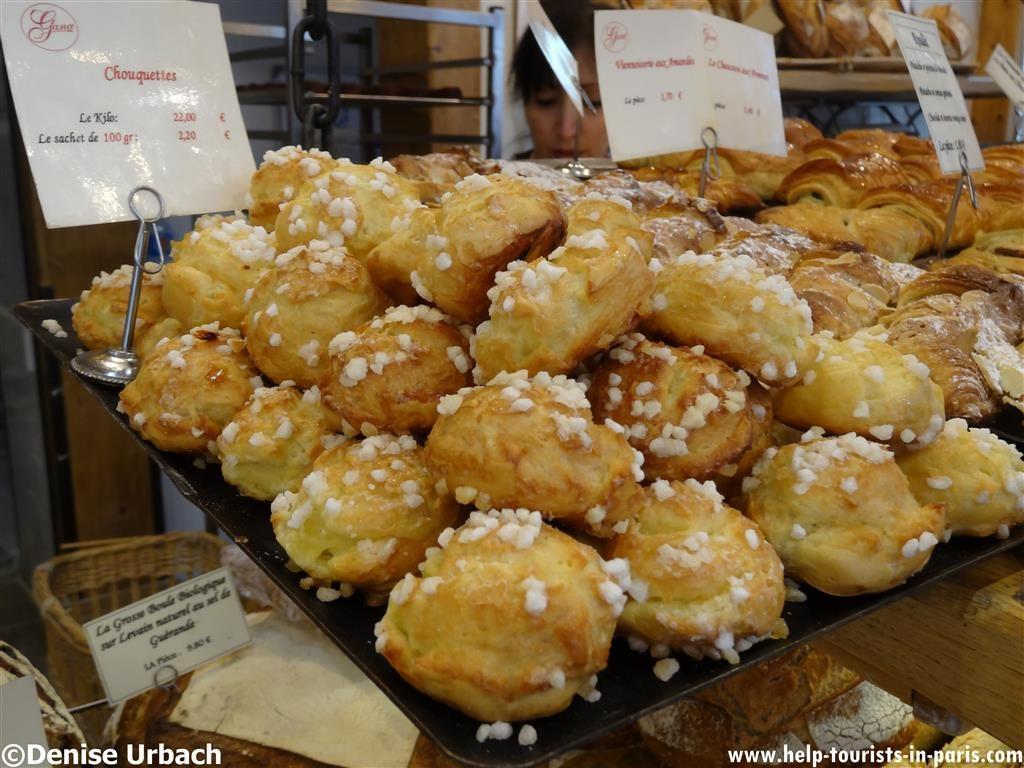 Chouquette Bäckerei Gana Paris