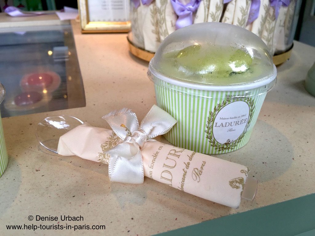 Eis Laduree Paris