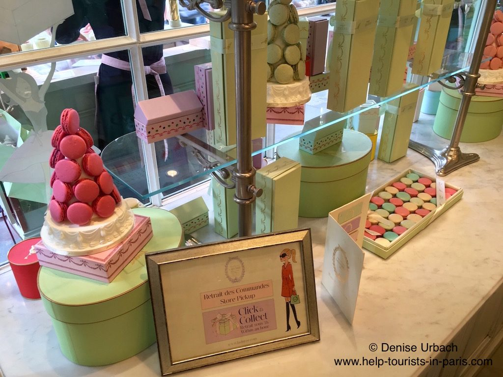 Laduree Macaron Shop Paris