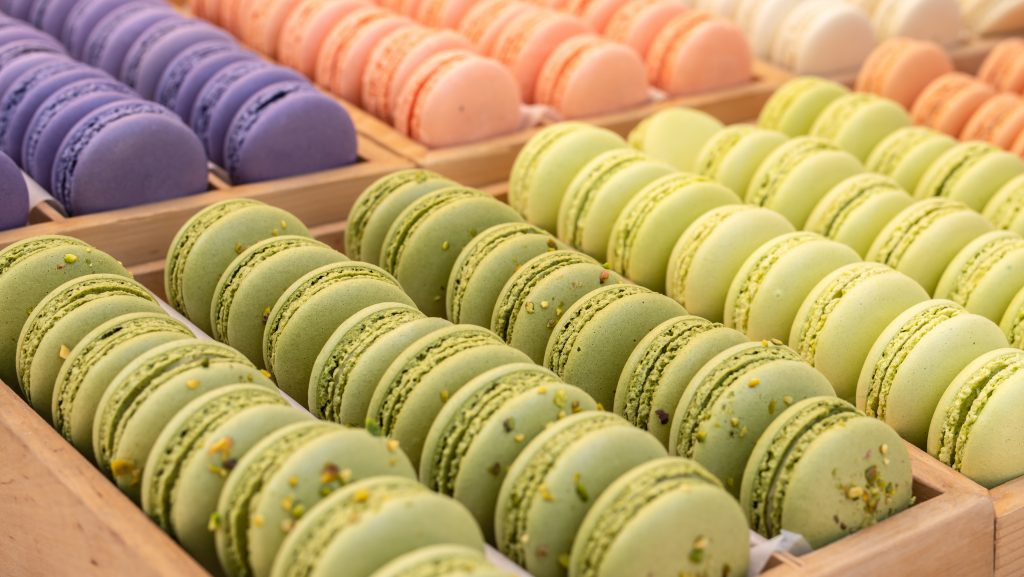 Macarons essen in Paris