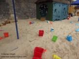 Sandburgen bauen Paris Plages