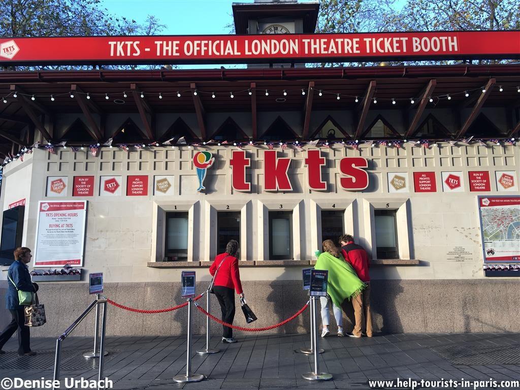 Ticketschalter Musicals London