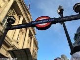 Tube Eingang London