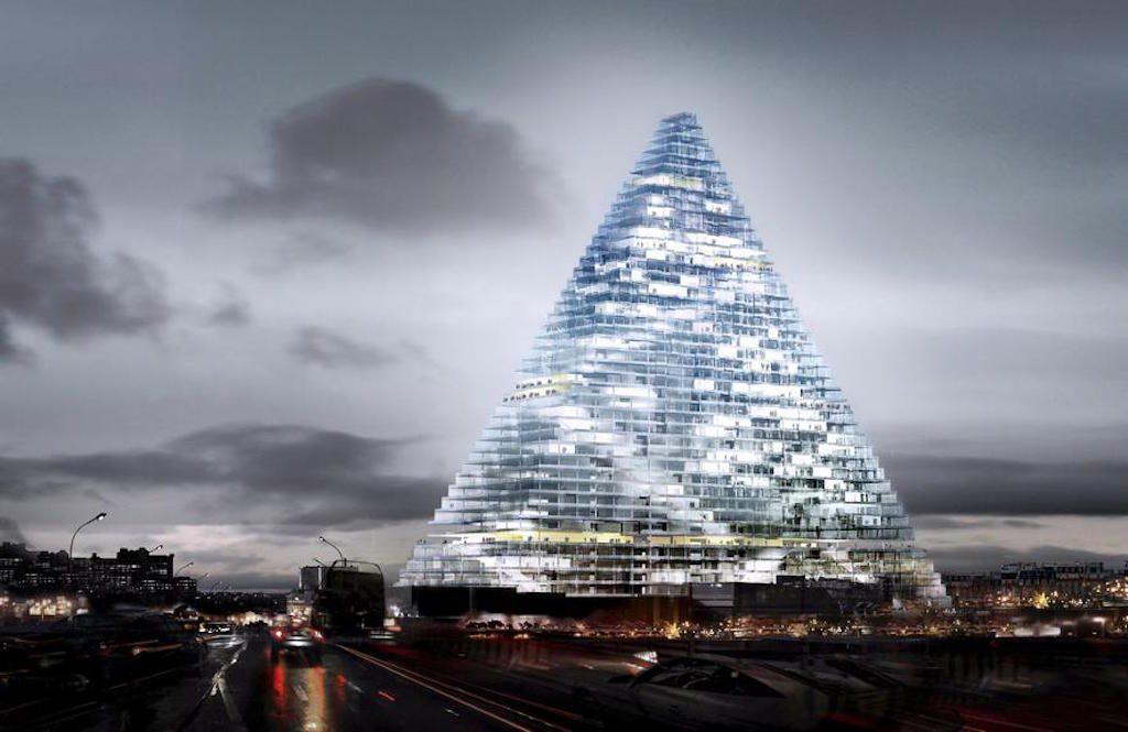 Glaspyramide Paris