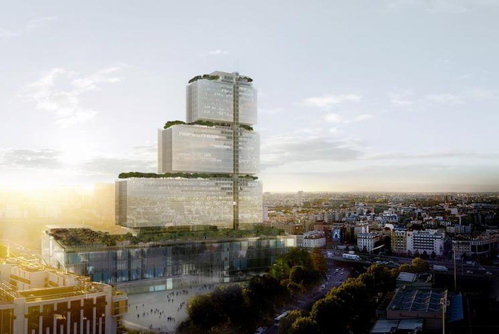 Neues Justizministerium Paris
