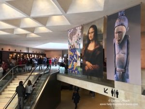 Mona Lisa im Louvre Paris