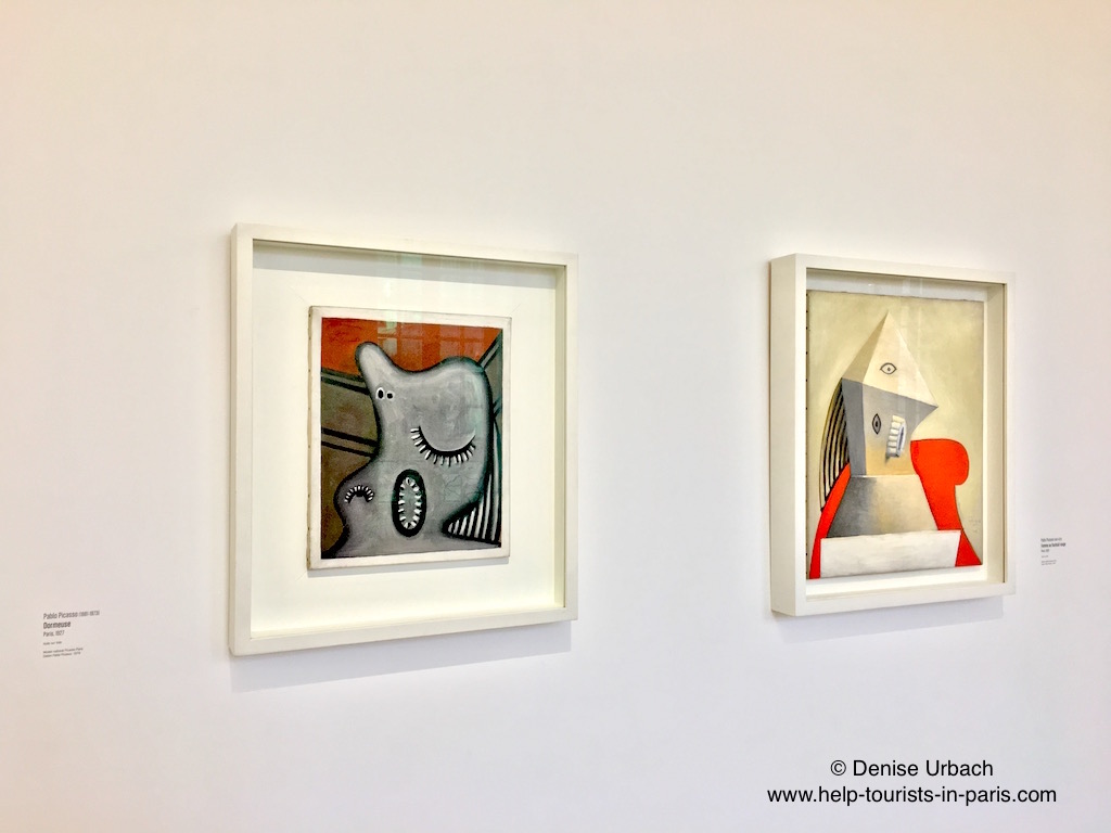 Picasso Werke im Picasso Museum Paris