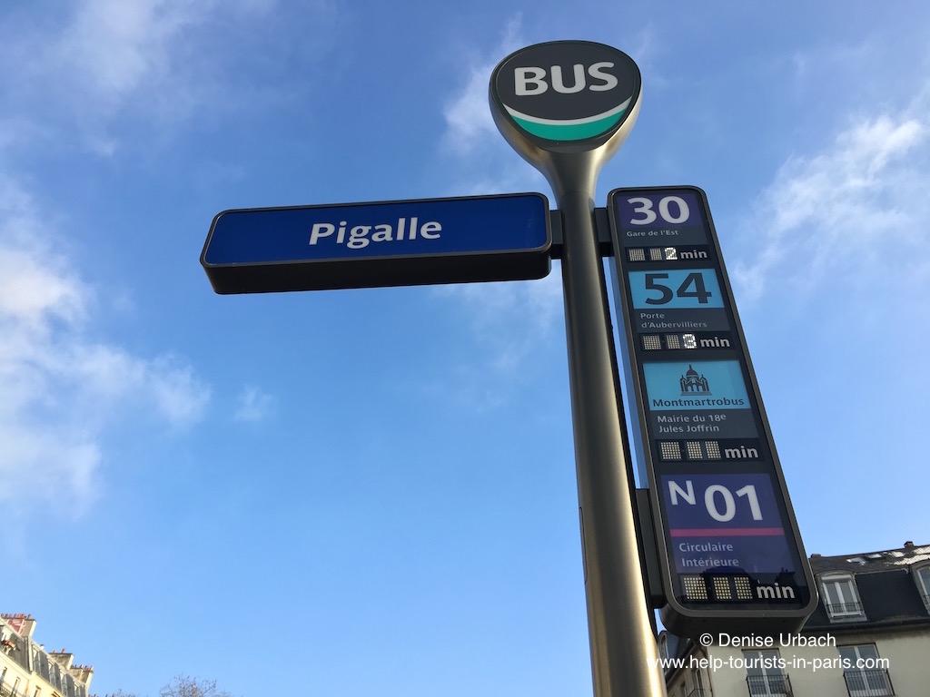 Pigalle Bus Montmartre