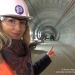 Denise Urbach besucht Bauarbeiten in Pariser Metro