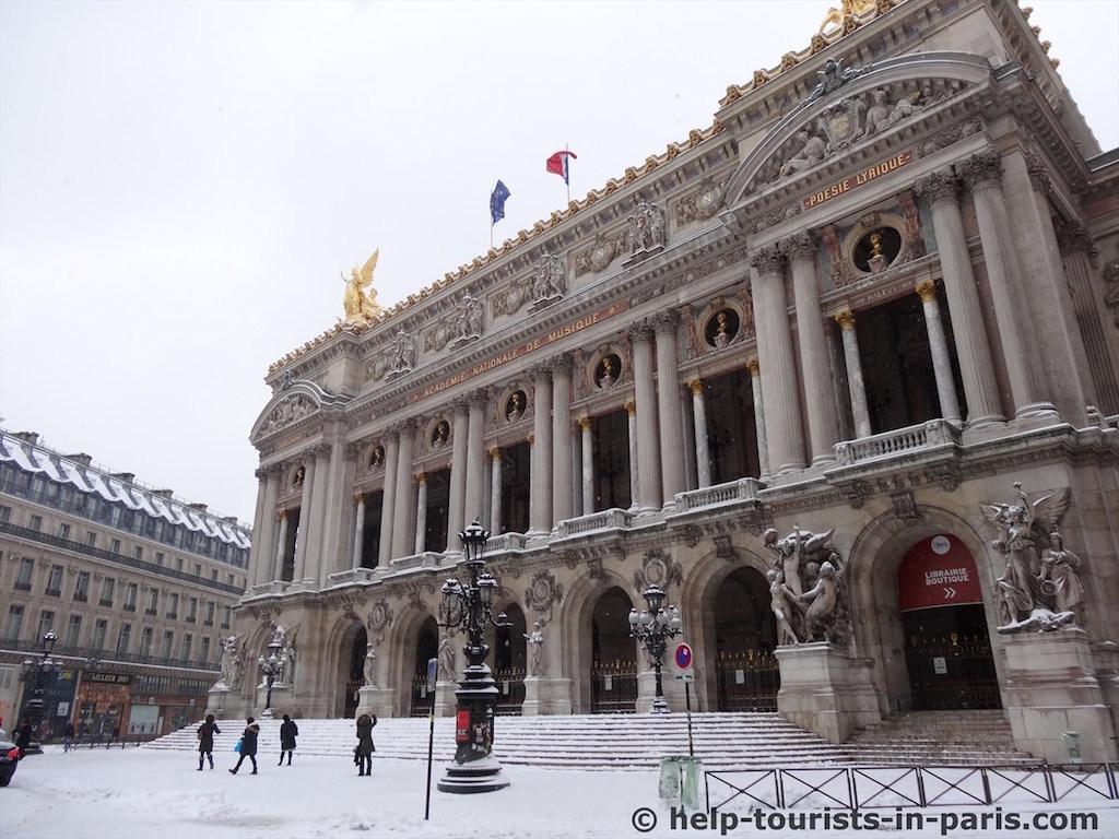 Oper Garnier Paris: Öffnungszeiten, Tickets & Preise für die ...