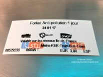 Smog Ticket Paris
