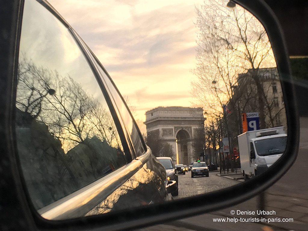 Tolle Aufnahme vom Triumphbogen in Paris