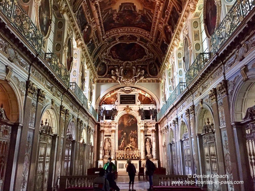 Schloss Fontainebleau Dreieinigkeitskapelle