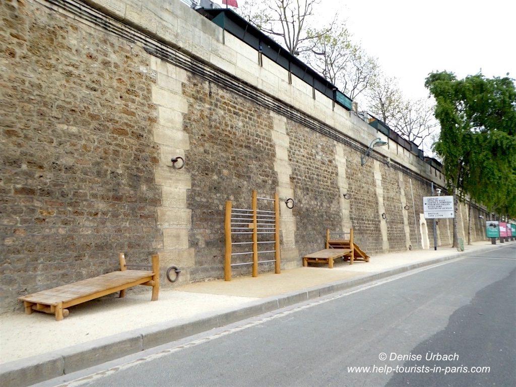 Sport an der Seine in Paris