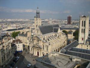 L'église Saint-Etienne du Mont Par
