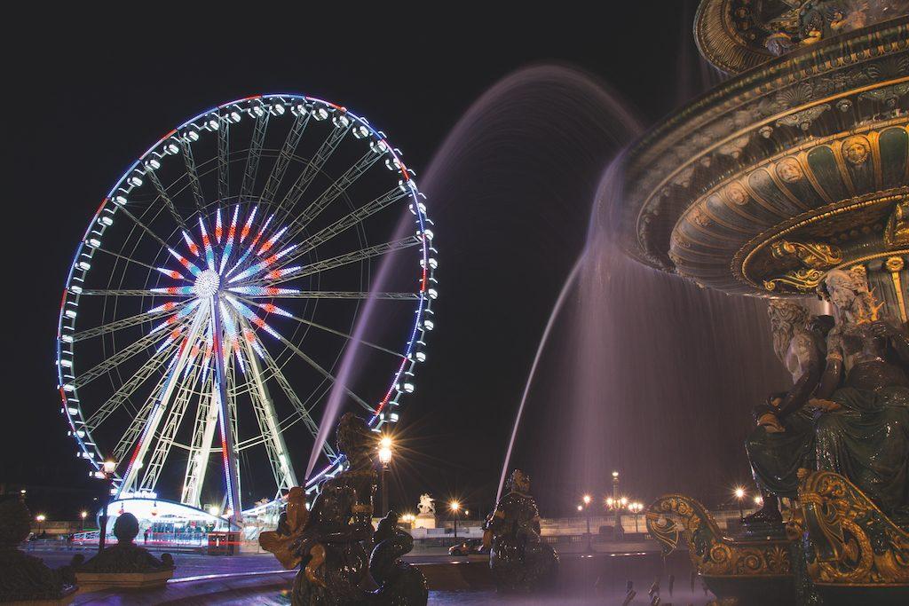 Weihnachtliche Stimmung Paris