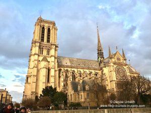 Blick auf Notre Dame