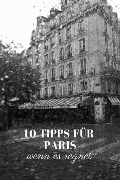 Was man bei Regen in Paris machen kann