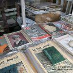 Alte Zeitungen Flohmarkt Porte de Clignancourt