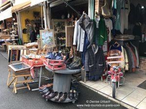 Kleidung Flohmarkt Porte de Clignancourt