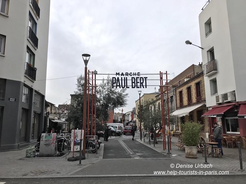 Marché aux puces Paul Bert Paris