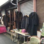 Pelzmäntel Flohmarkt Porte de Clignancourt