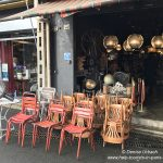 Stühle kaufen Marché aux puces Saint-Ouen Paris