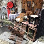 Tische und Stühle Marché aux puces