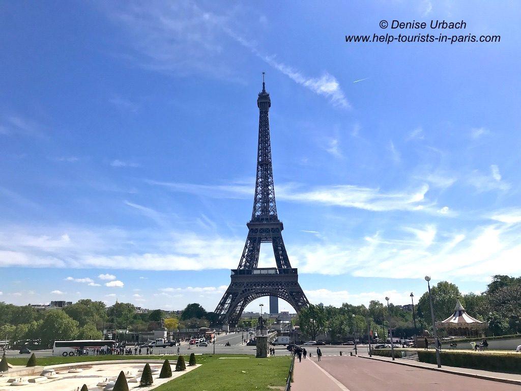 Eiffelturm Frontansicht