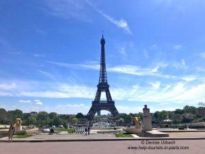 Eiffelturm Trocadero