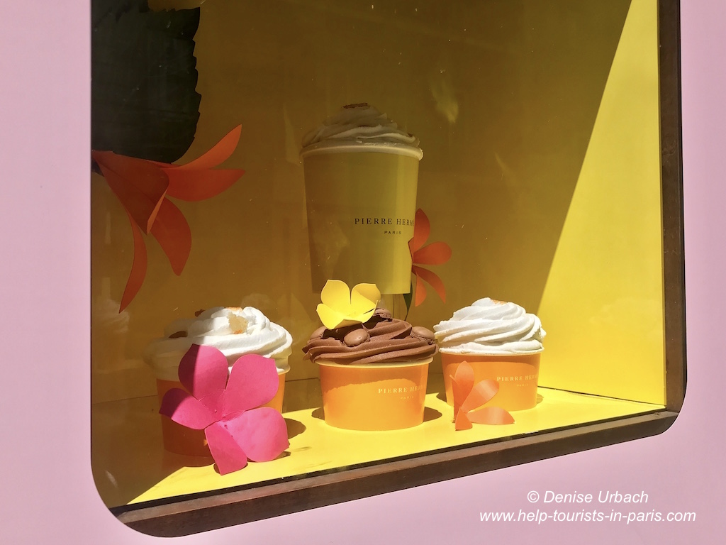 Pierre Herme Eis essen Paris