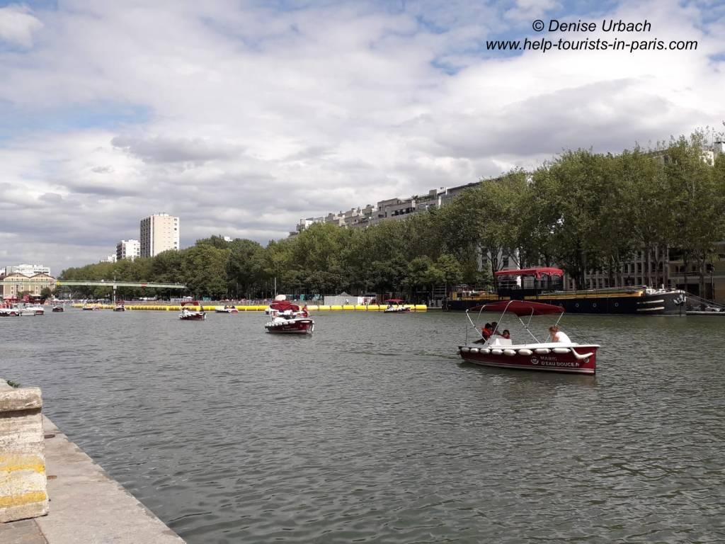 Bootfahrten Paris Plages