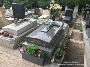 Friedhof Pere Lachaise Paris Edith Piaf
