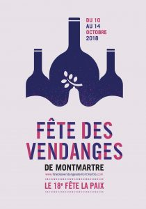 Weinfest Montmartre Paris 2018