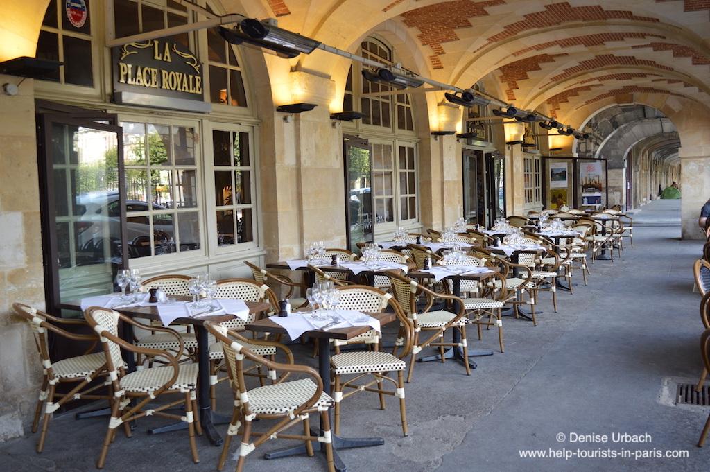 Café Marais Viertel Paris