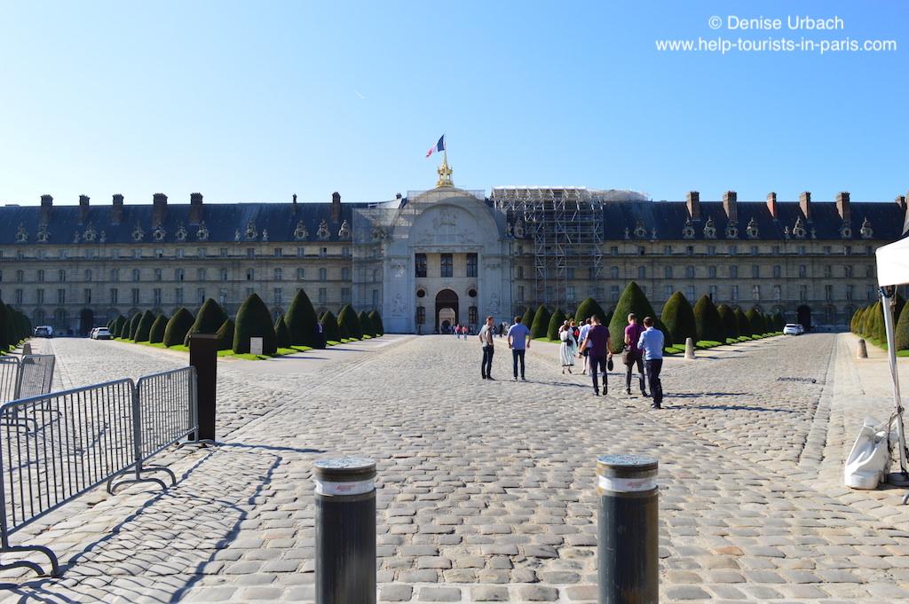 Eingang Invalidendom Paris