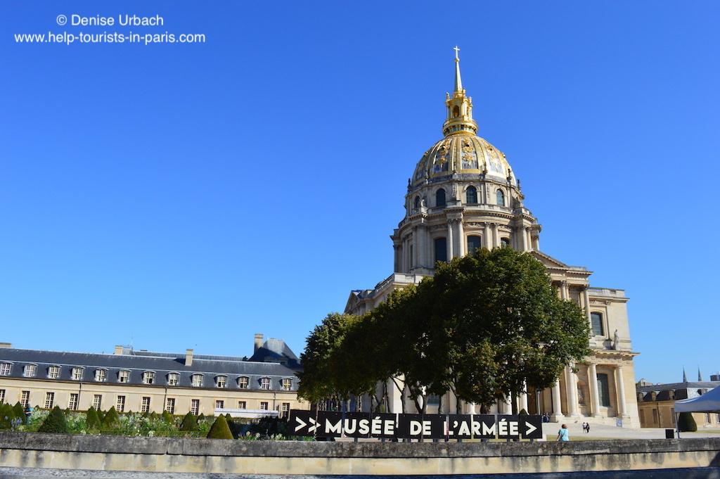 Invalidendom Paris Armeemuseum