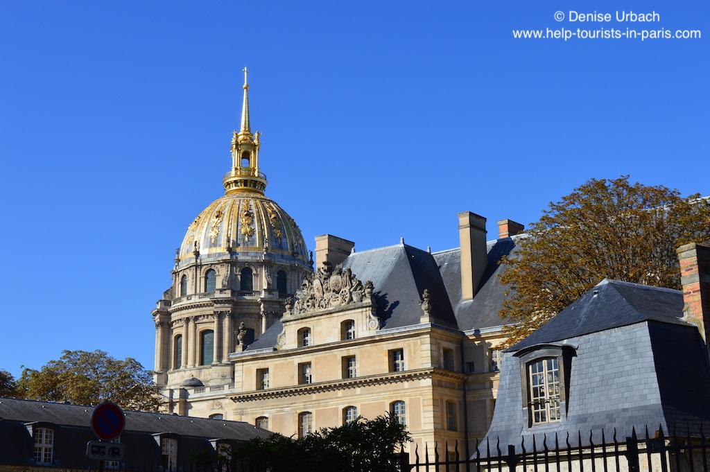 Invalidendom Paris Kuppel