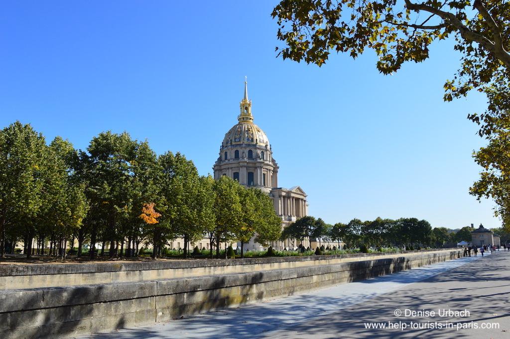 Invalidendom Paris im Sommer