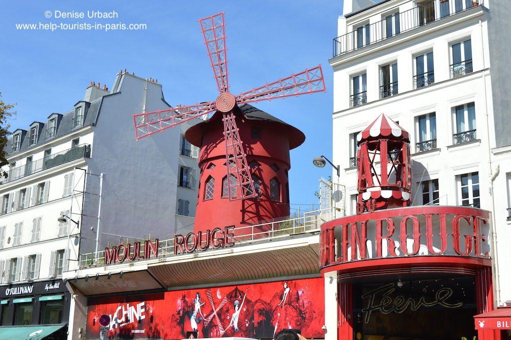 Moulin Rouge Montmartre